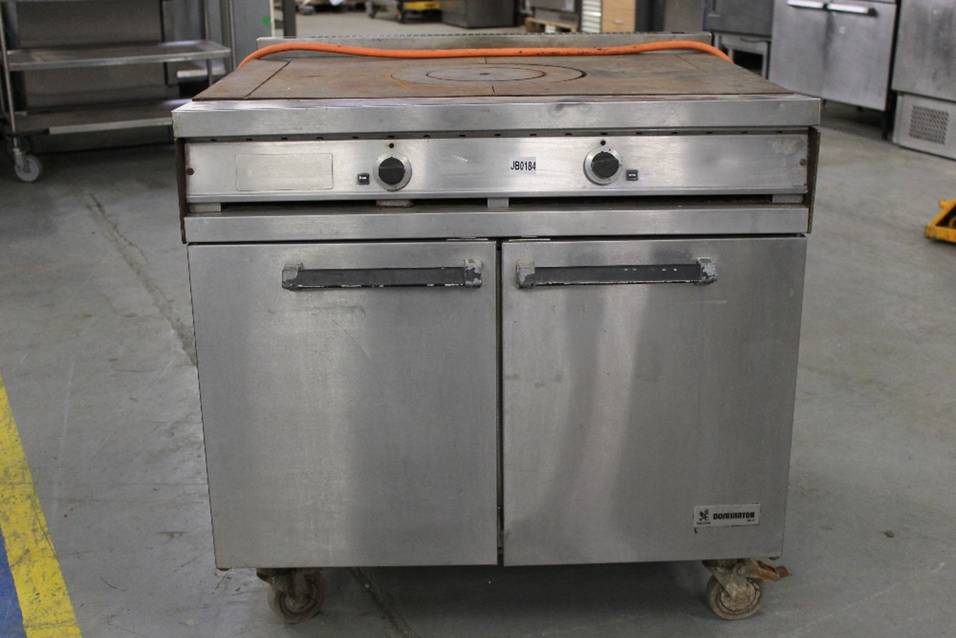 Lot 58 - Falcon Dominator Gas Chefs Top Cooker + Double Oven