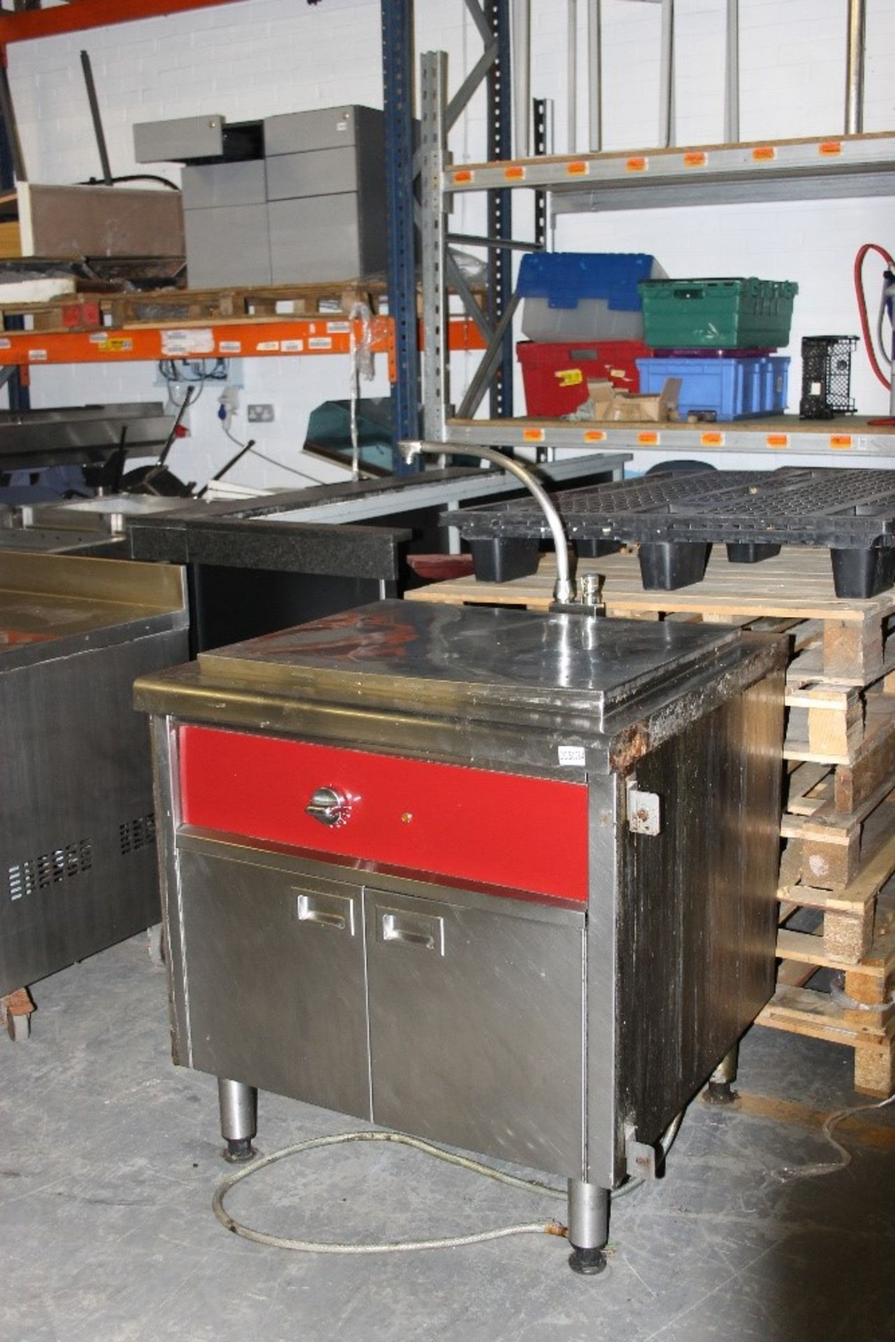 Lot 30 - Stainless Steel Brat Pan – under storage – 3ph-as found