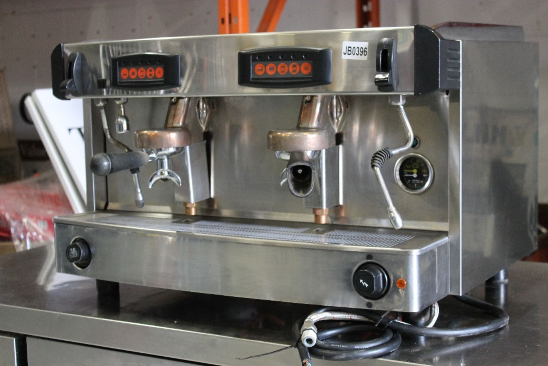 Lot 33 - IBERITAL 2 Group Espresso / Cappuccino Coffee Machine 3ph – with 2 Group Heads