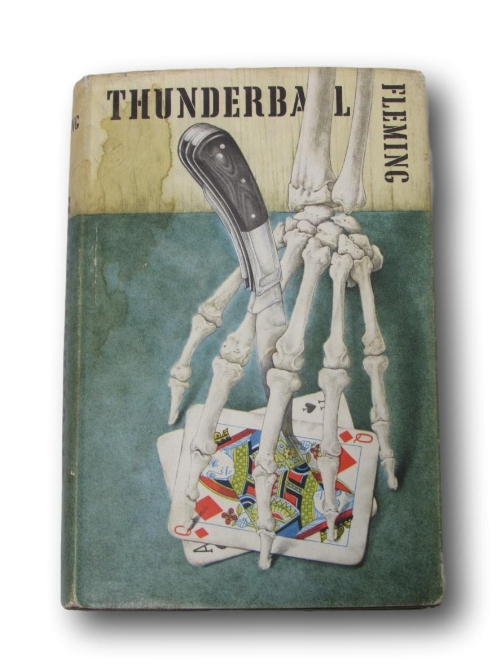 Lot 317 - Ian Fleming, First Edition, first impression copy of 'Thunderball' published 1961 with original dust