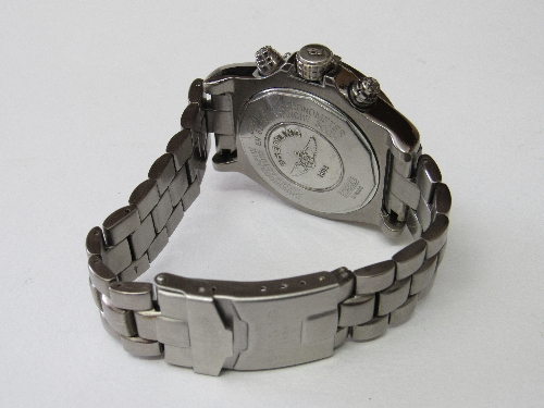 Lot 443 - Breitling style chronometer Avenger type watch (E13360 2/4288 203) automatic