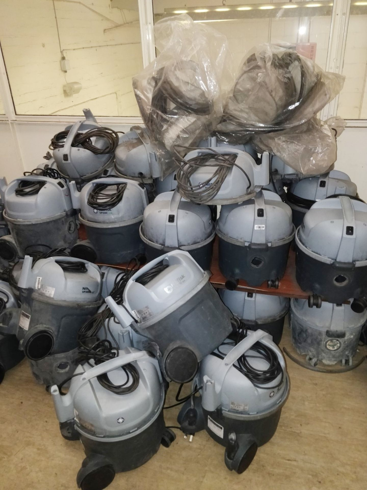 Lot 5 - 30 x Nilfrisk VP300 Eco Vacuum Cleaners - Approx RRP £3,000 - Ref B2 CL409 - Location: Wakefield