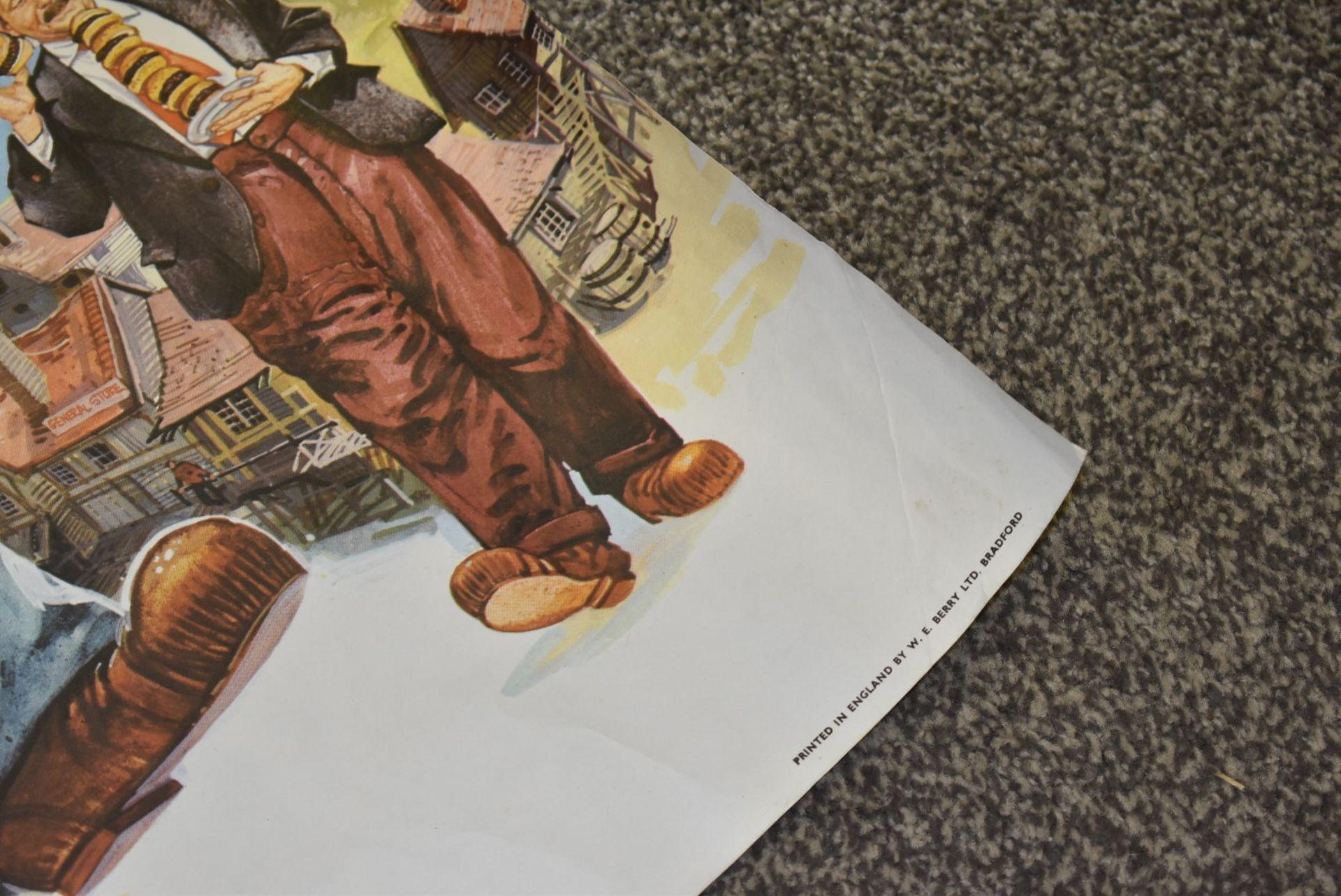 Lot 4058 - 1 x Quad Movie Poster - POPEYE - Starring Robin Williams and Shelley Duvall - 1980 Film - Walt