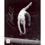 Lot 9 - COMANECI NADIA: (1961- ) Romanian Gymnast. Five times Olympic individual gold medallist.