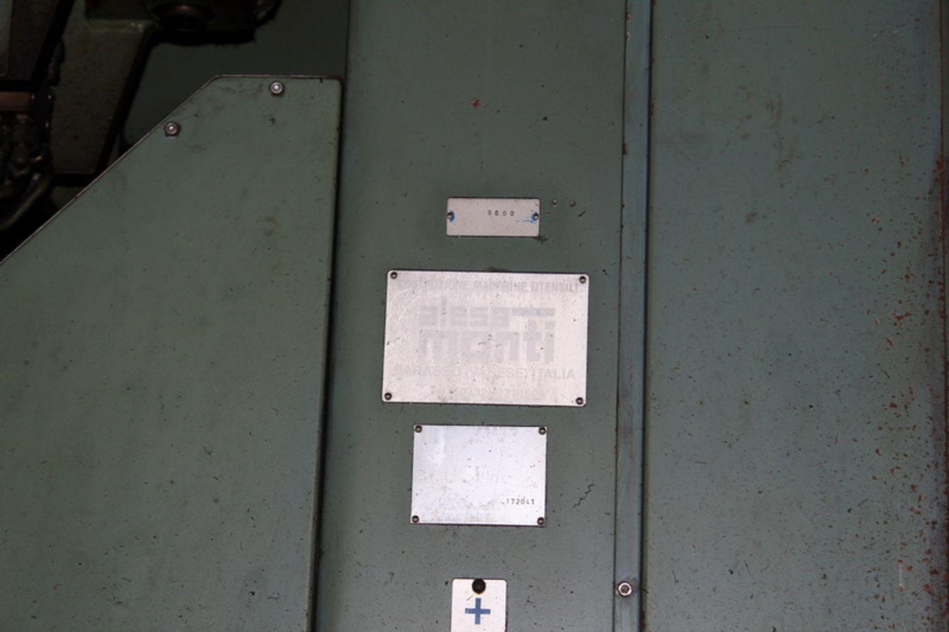 Lotto 58 - N. 2 (N. 725 IVG FALLIMENTO) FRESATRICE ALESAMONTI M.15, N. 172041, NON RINVENUTA LA TARGHETTA E 54