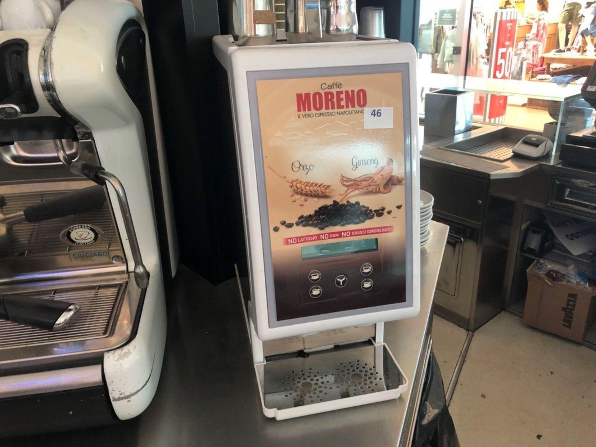 Lotto 48 - N. 46 (FALL. N. 102/19 VR) MACCHINA PER CAFFE' ORZO E GINSENG