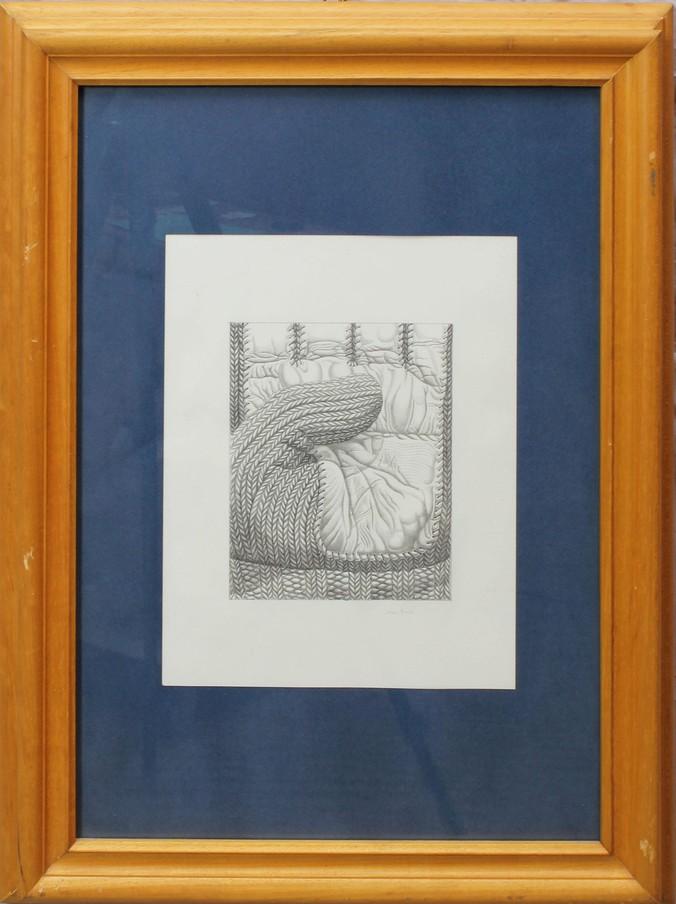 Lot 19 - Guanto di lana, grafica, Mario Brozzi