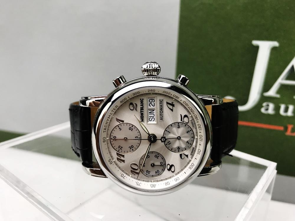Lot 24 - Montblanc Meisterstuck 7034 Chronograph Watch