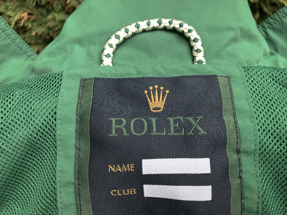 Lot 30 - Rolex Green Sailing, Jacket Size S