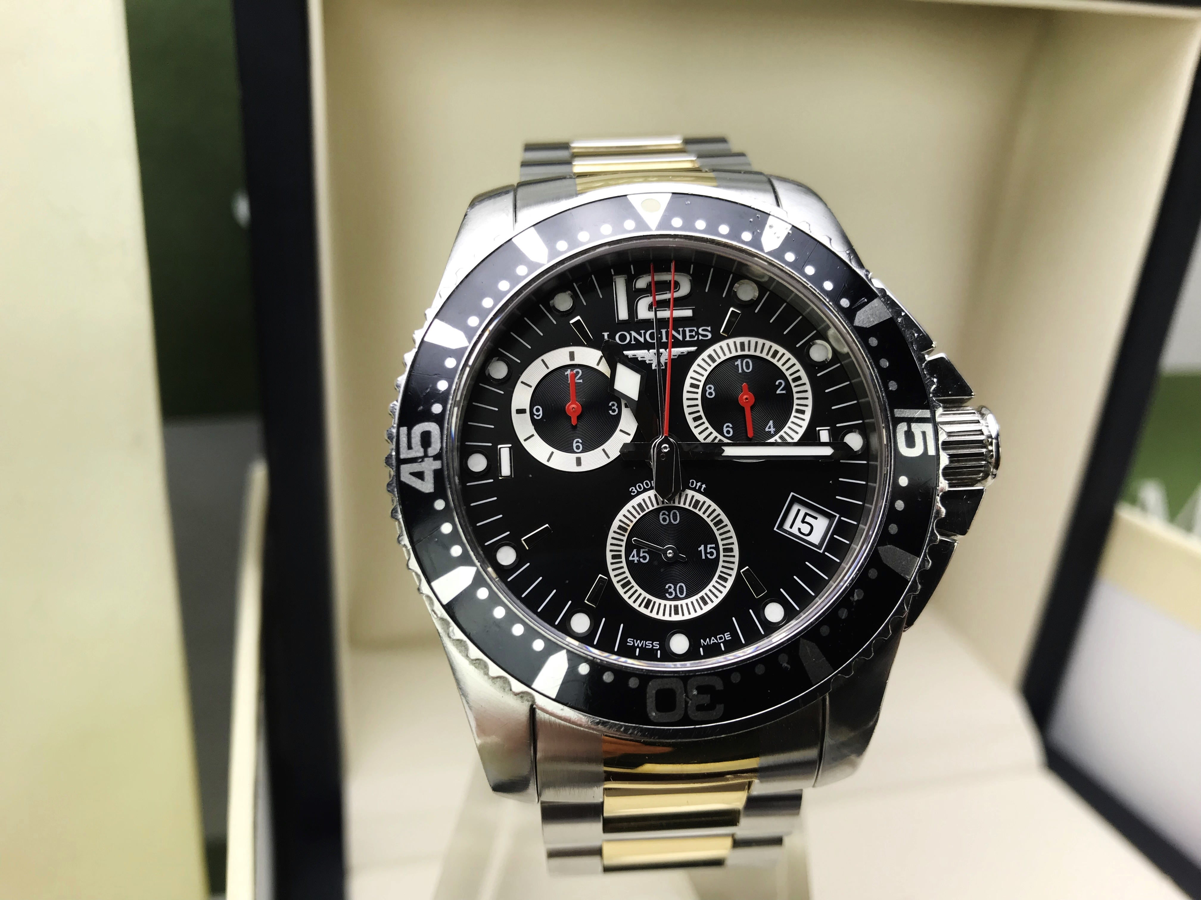 Lot 40 - Longines Hydro Conquest 41mm Chronograph