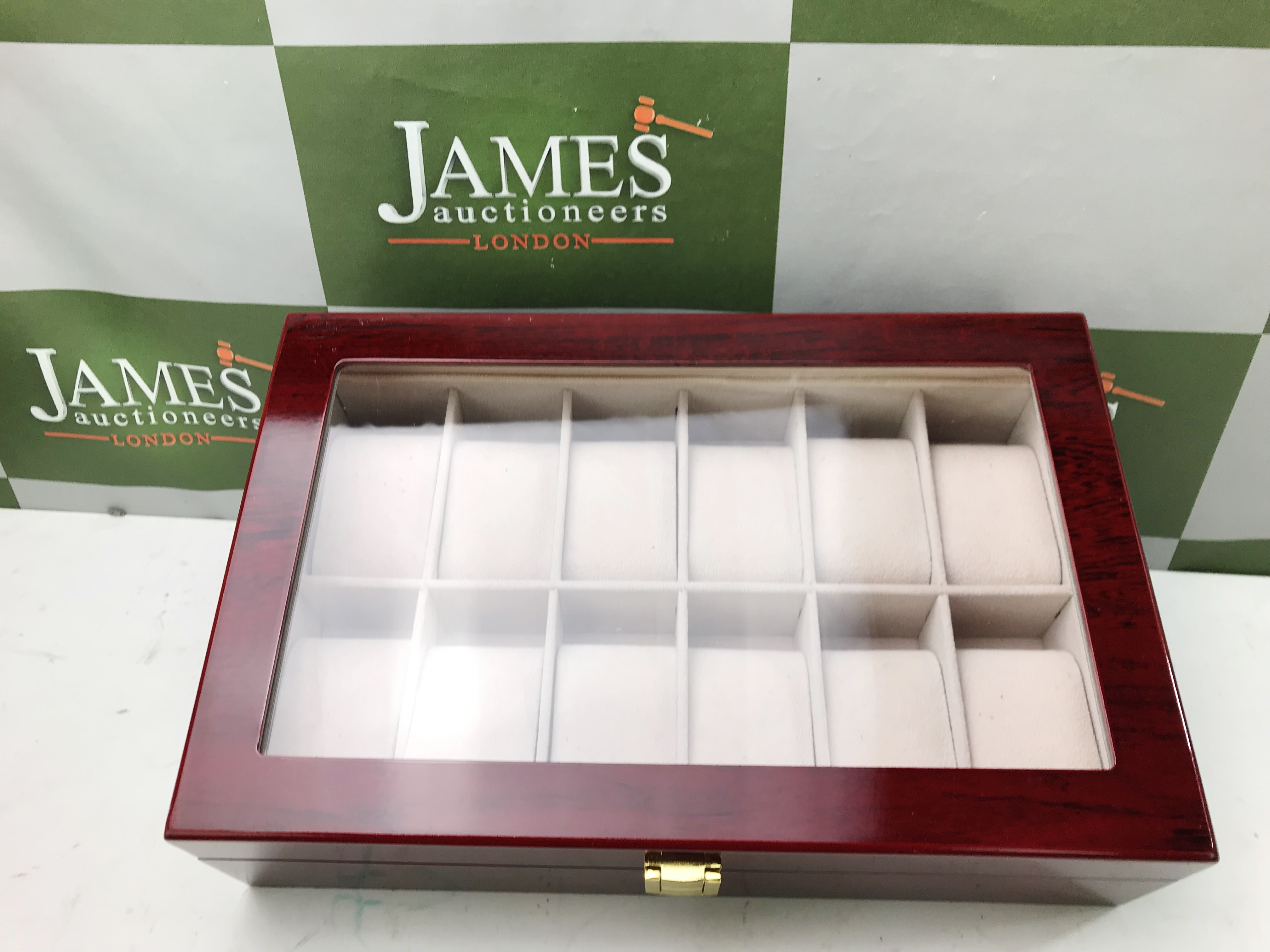 Lot 42 - Watch Storage Case for 12 Watches