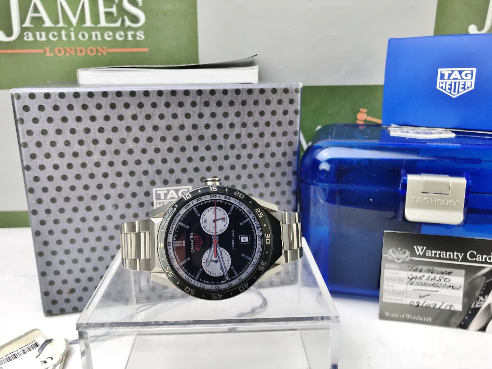 Lot 49 - Tag Heuer Titanium Edition Connected iWatch-Rrp - £1899