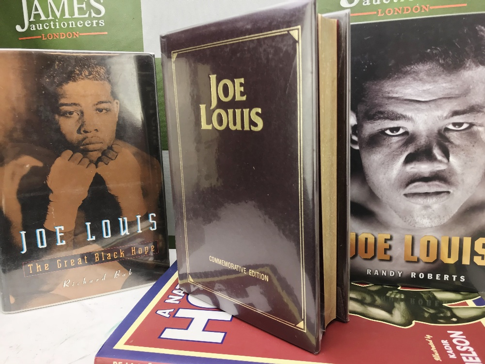 Lot 53 - Boxing Books of Heavyweight Champion Joe Louis(Two Signed)