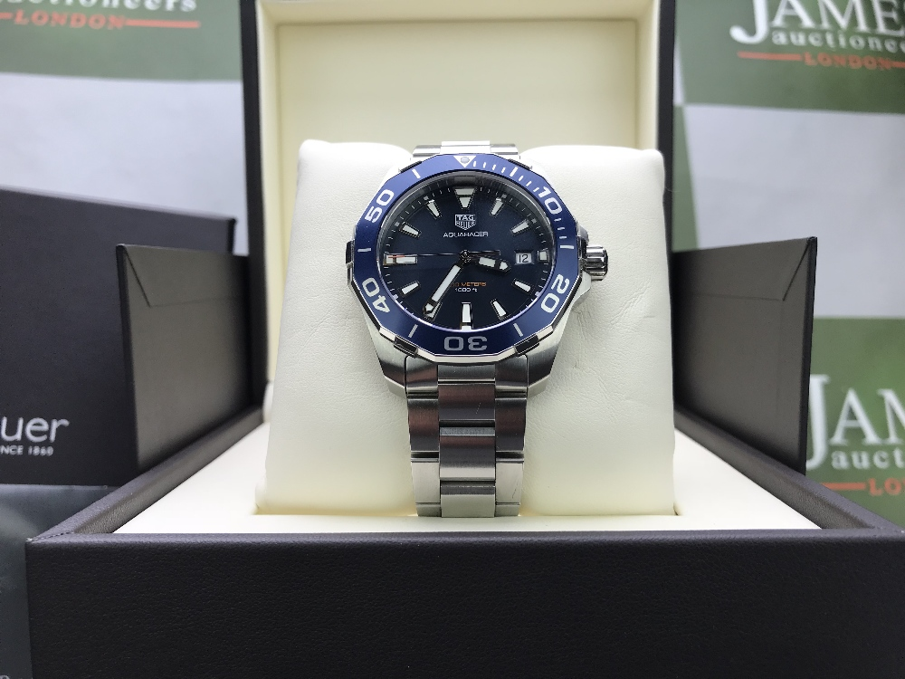 Lot 46 - Tag Heuer Aquaracer Reference -WAY111C Current Model