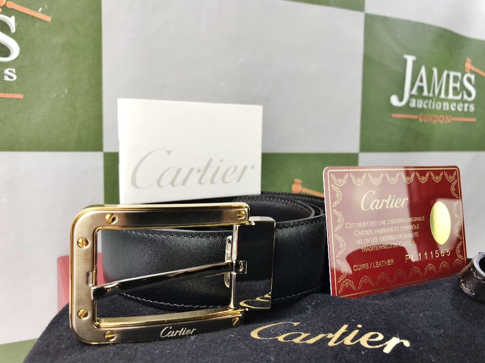Lot 42 - Cartier-Mens Belt, Santos Example