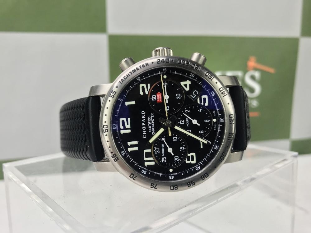 Lot 9 - Chopard Mille Miglia Titanium Chronograph Watch, Rrp £2495