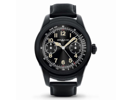 Lot 26 - Montblanc Summit Smart Watch