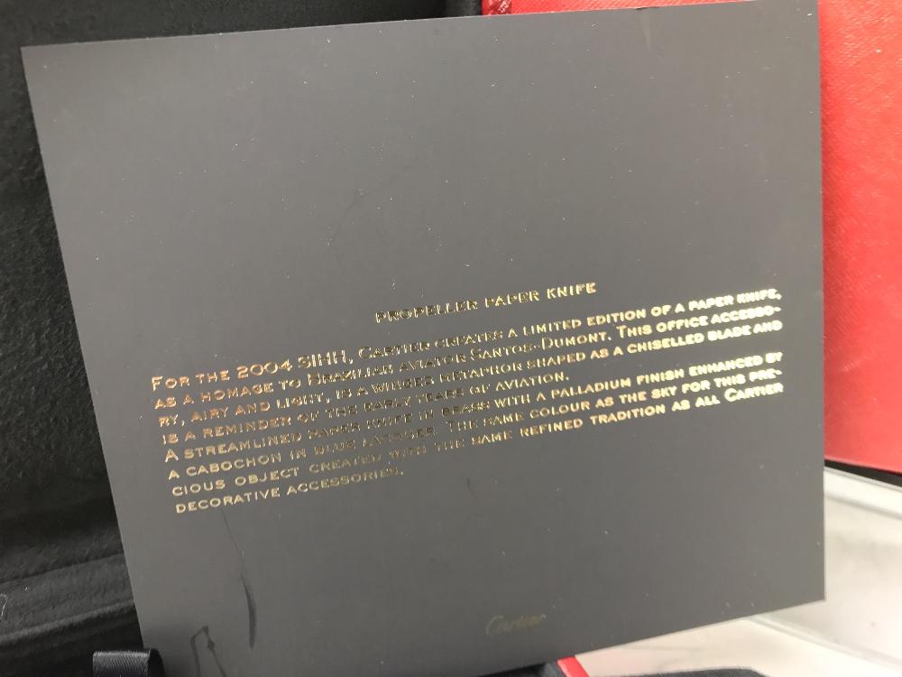 Lot 47 - Cartier Santos Letter Opener Unused Example