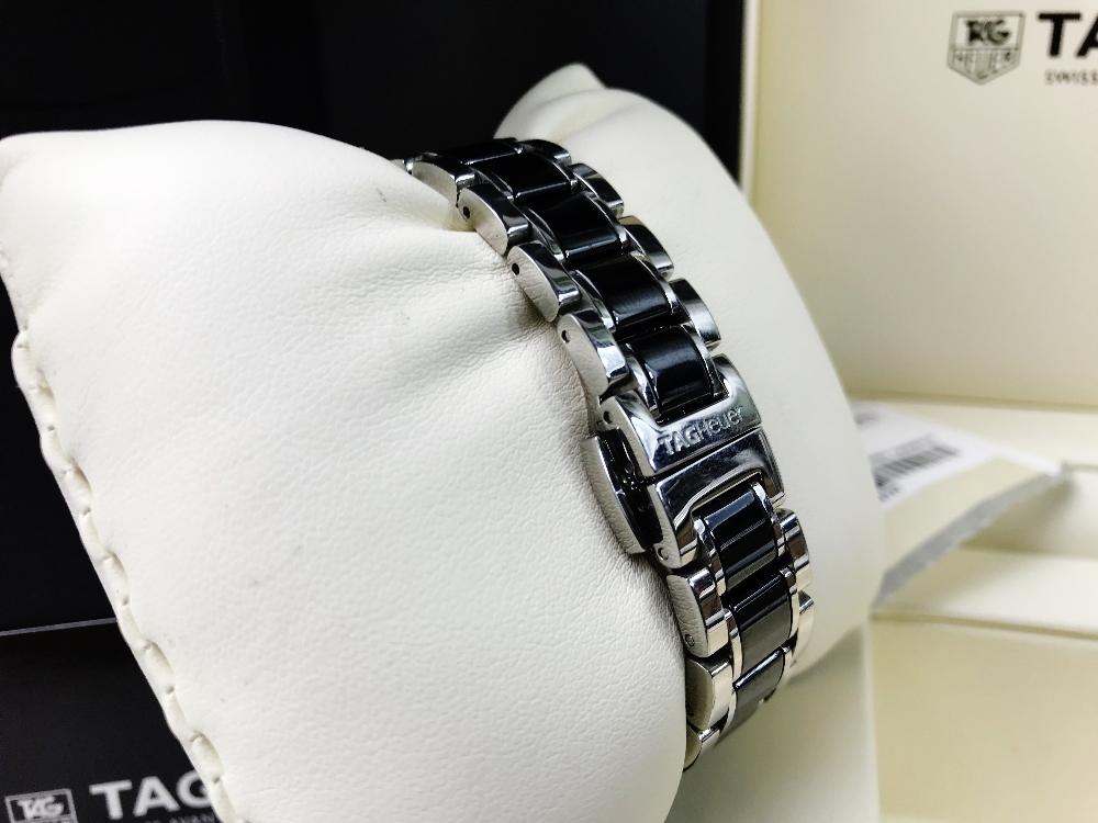 Lot 29 - Tag Heuer Formula 1 Diamond Set Ladies Watch 2015 WAH1314.BA0867