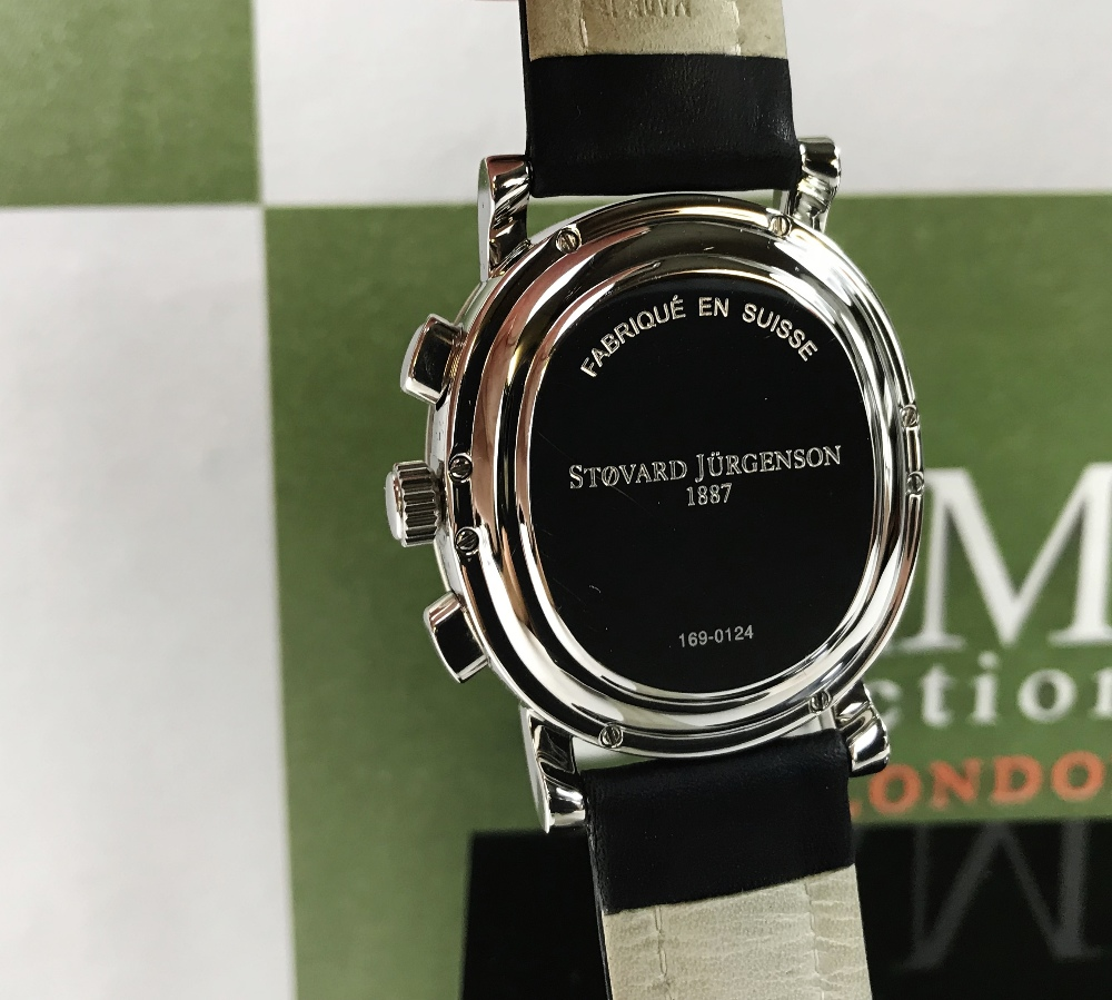 Lot 17 - Stovard Jurgenson 169-7750 Chronograph Automatic