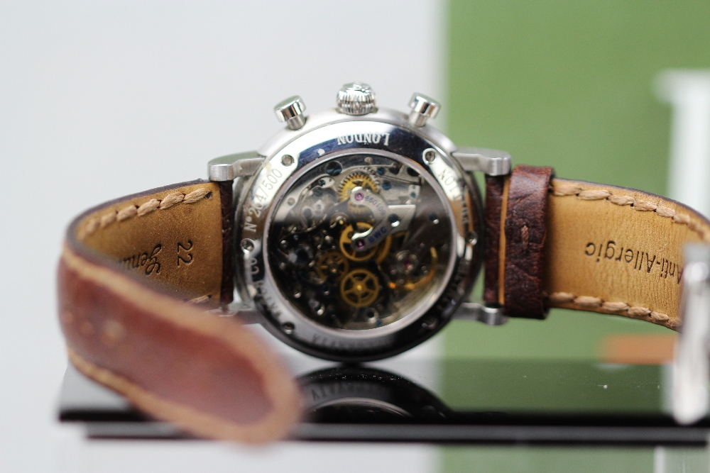 Lot 3 - Belgravia BWC Power Tempo Chronograph Watch