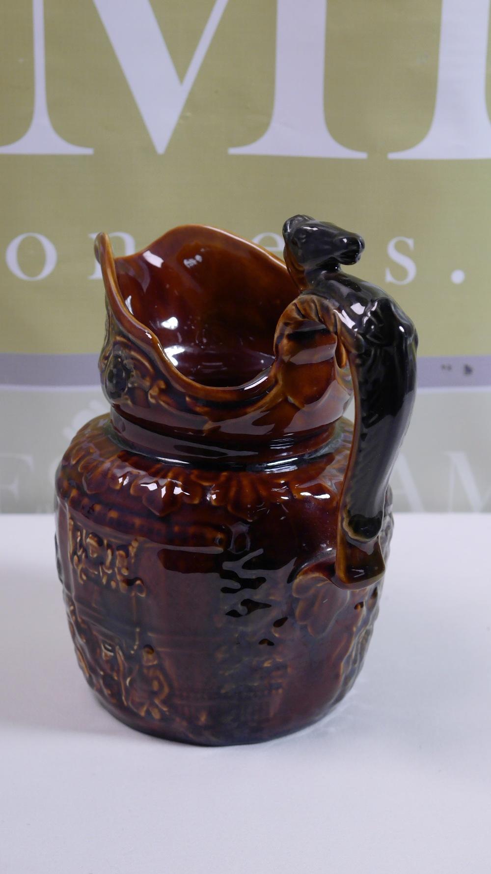 Lot 38 - Large Vintage Arthur Wood Treacle Glazed Jug