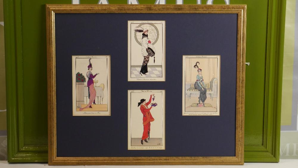 Lot 58 - Armand Vallee French Fashion Pochoir Print Costume Parisiens Gallery