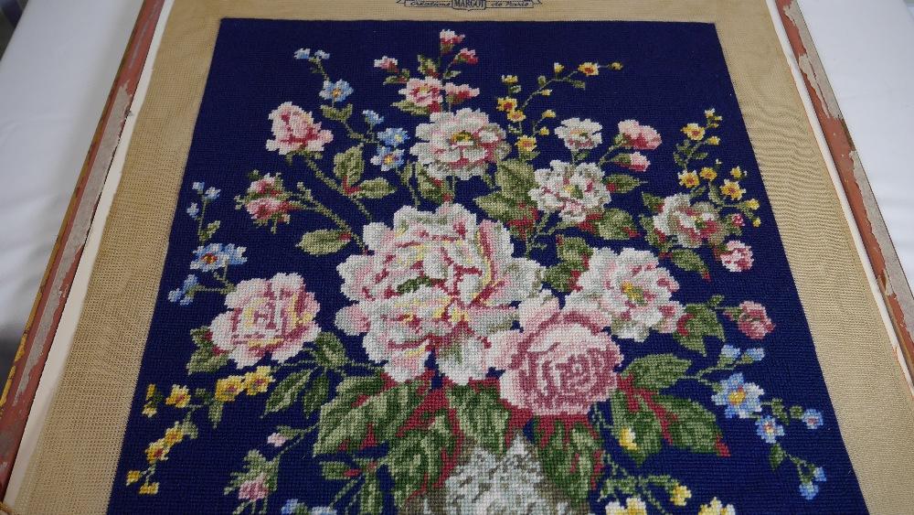 Lot 35 - Margot de Paris Tapestry/Needlepoint Canvas - Bouquet Ancien d'apres J. M. Raud