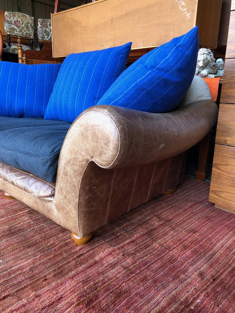 Lot 43 - Vintage Halo 2 Seater Tetrad Style Sofa