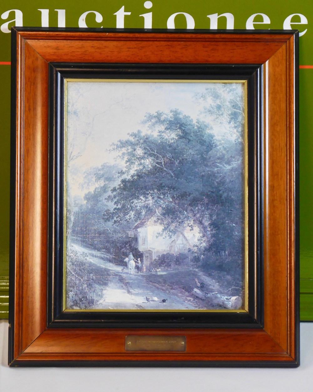 Lot 55 - Henry John Boddington(British 1811 – 1865) A Lane at Knockholt, Kent oil on canvas
