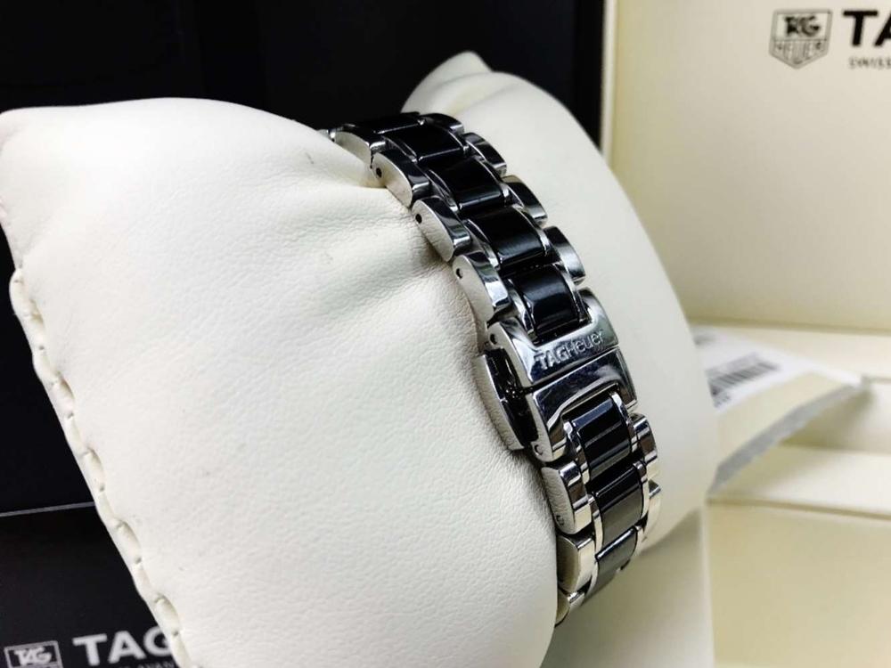 Lot 29 - Tag Heuer Formula 1 Factory Diamond Set Ladies Watch