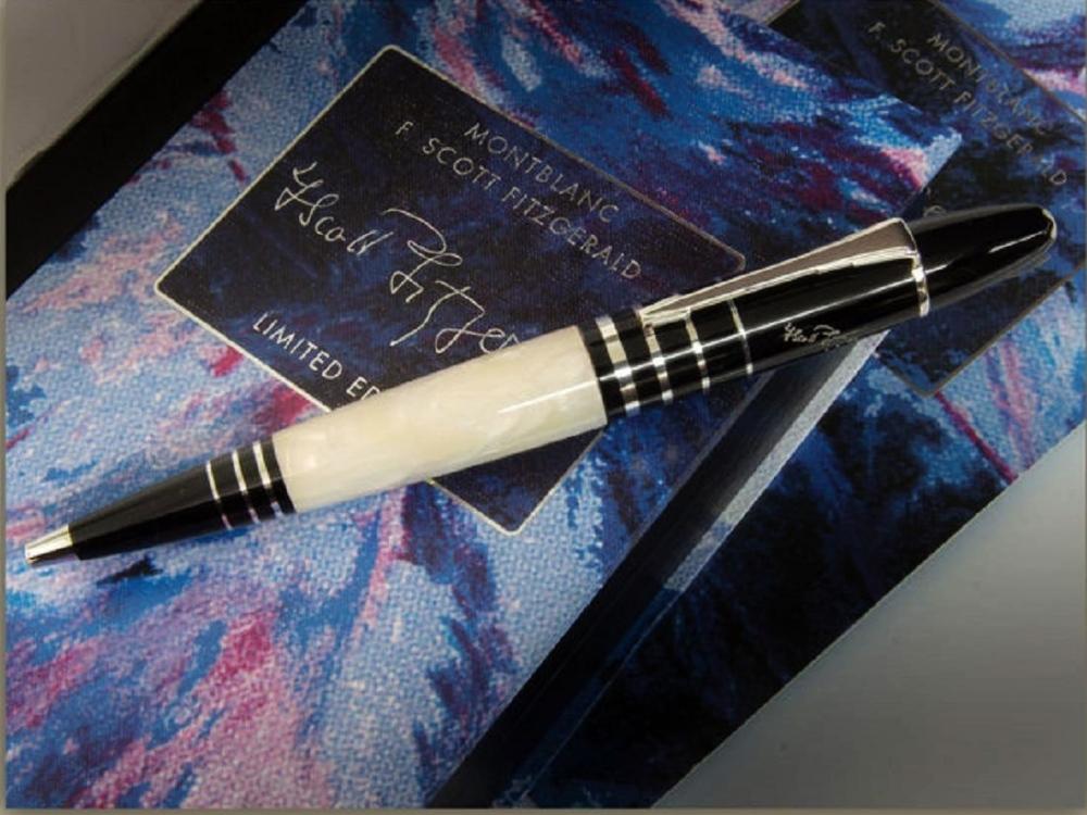 Lot 141 - Montblanc Limited Edition F.Scott FitzgeraldBallpoint Pen.