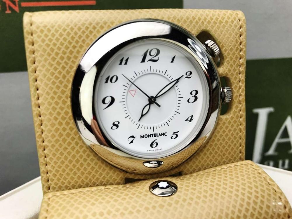 Lot 25 - Montblanc Travel Alarm Clock