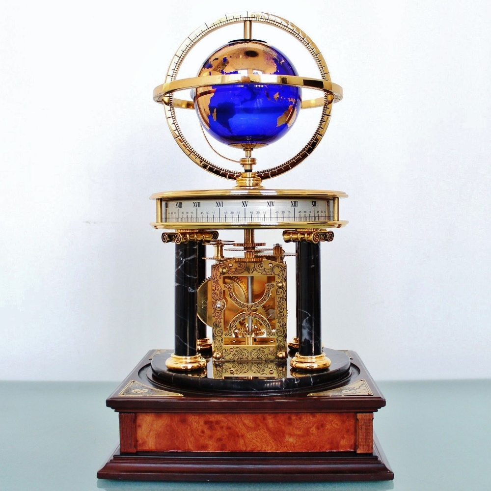 Lot 27 - The Royal Geographical Society Millennium Clock
