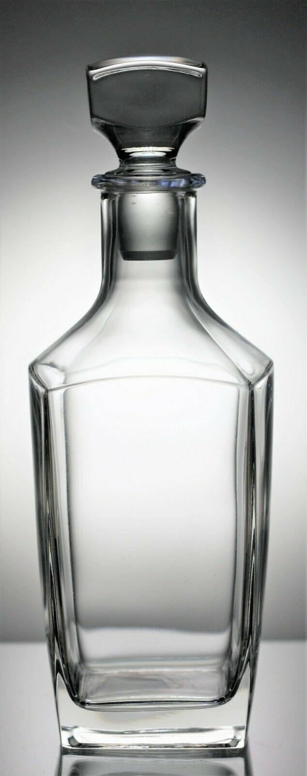 Lot 142 - Hand Blown Contemporary Crystal Glass Spirit Decanter