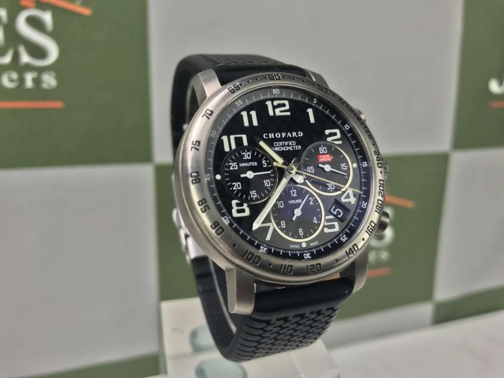 Lot 9 - Chopard Mille Miglia Titanium Chronograph Watch