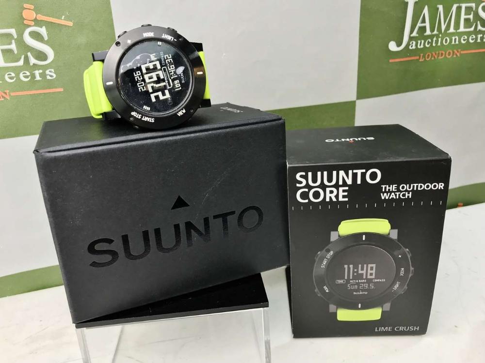 Lot 31 - Suunto Core Lime Crush Utility Sports Watch