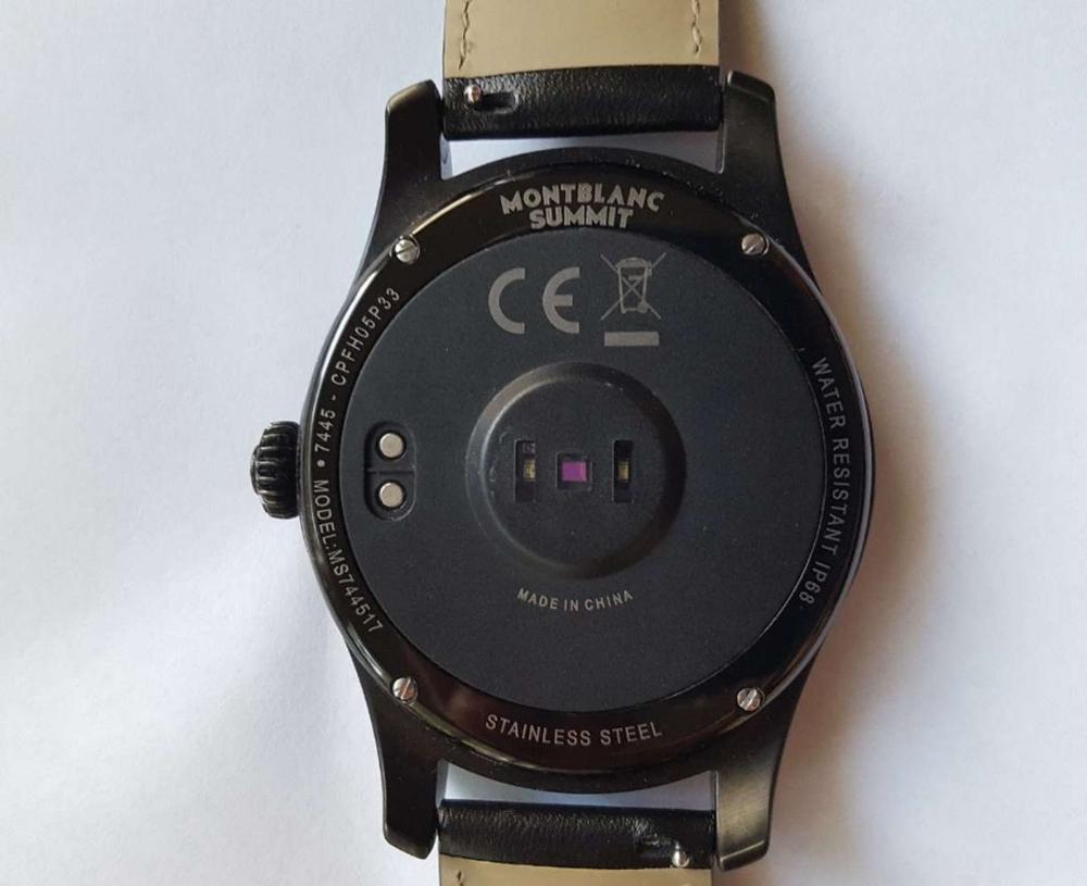 Lot 26 - Montblanc Summit Smart Watch