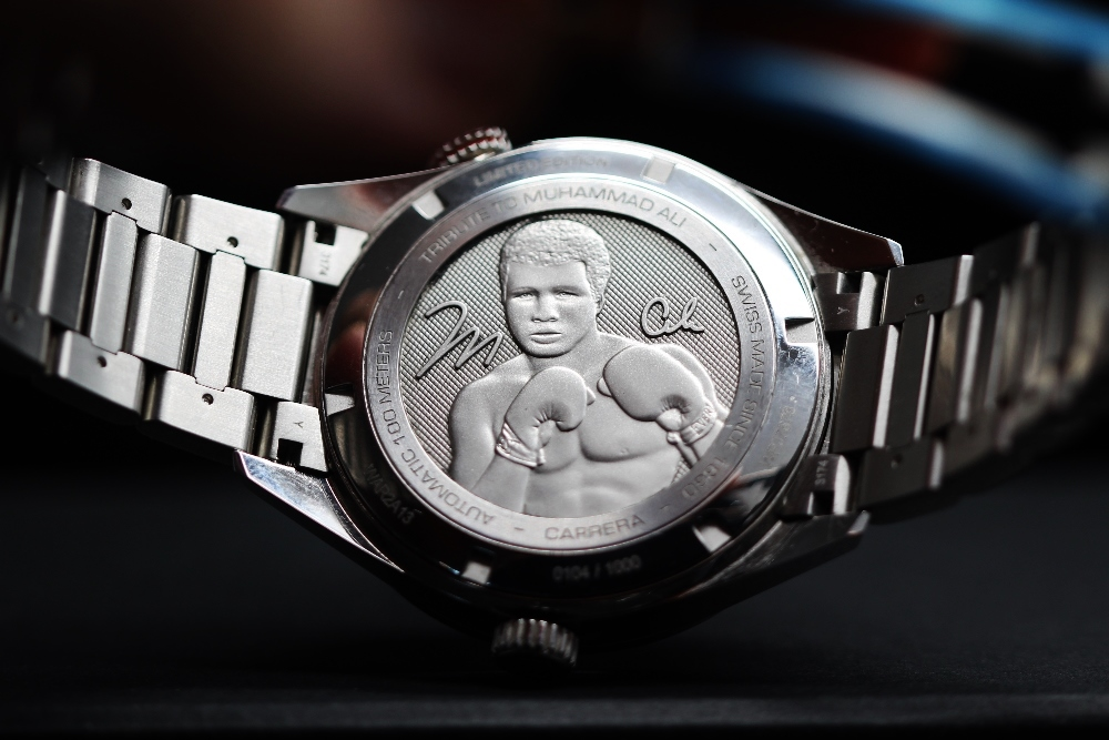 Lot 6 - Tag Heuer Muhammad Ali Special 2019 Edition