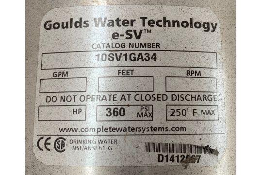 Goulds ESV Series Model 10SV1GA34 Liquid end water pump with