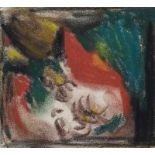 Lot 56 - Mueller, Albert. (1884 Schwandorf - 1963 Bremen). Abstrakte Komposition. Pastellkreide und