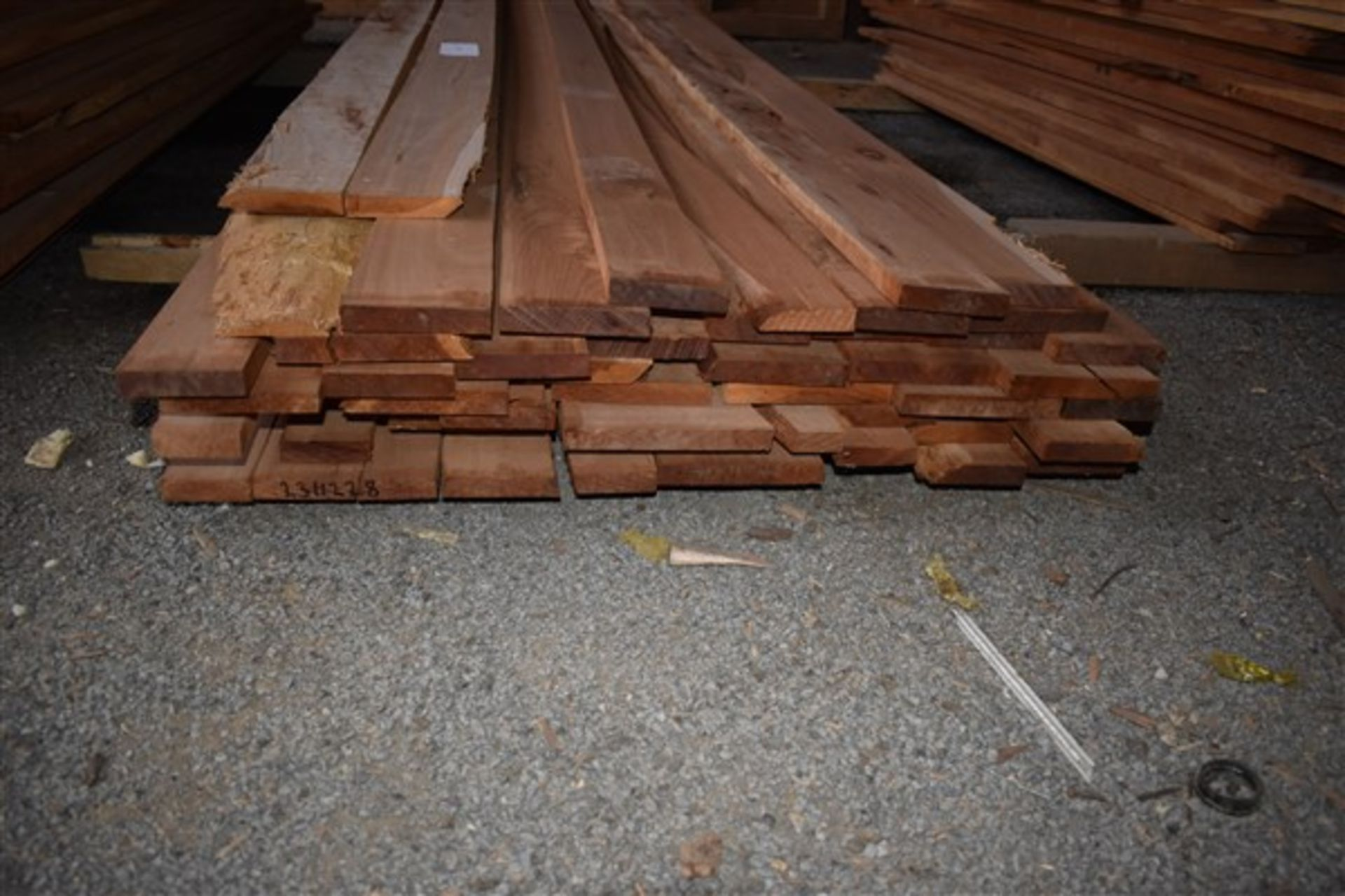 Lot 64 - 4/4 Cherry- Planed 2 sides