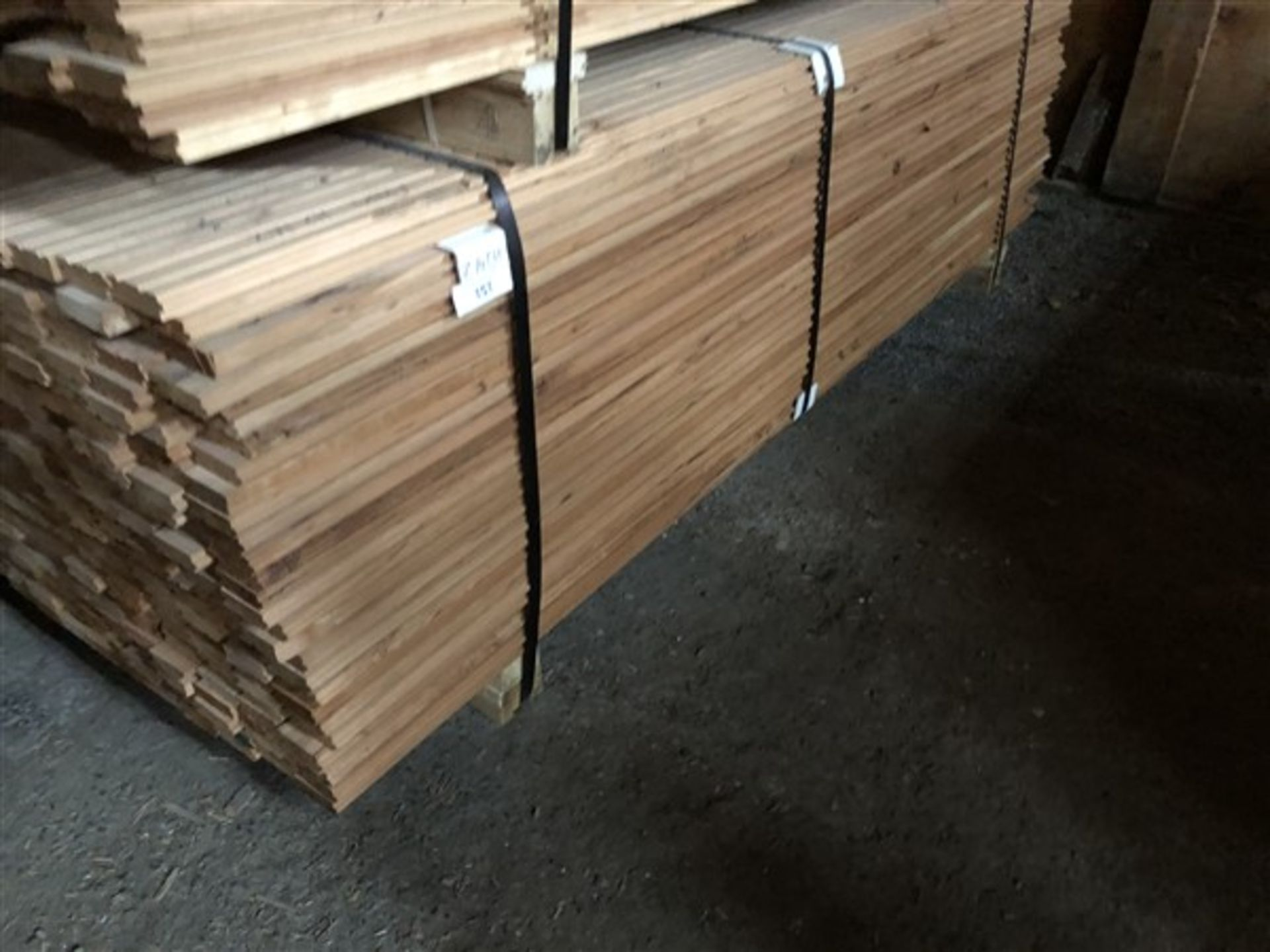 """Lot 151 - Cherry 2 1/4"""" Unfinished Flooring"""