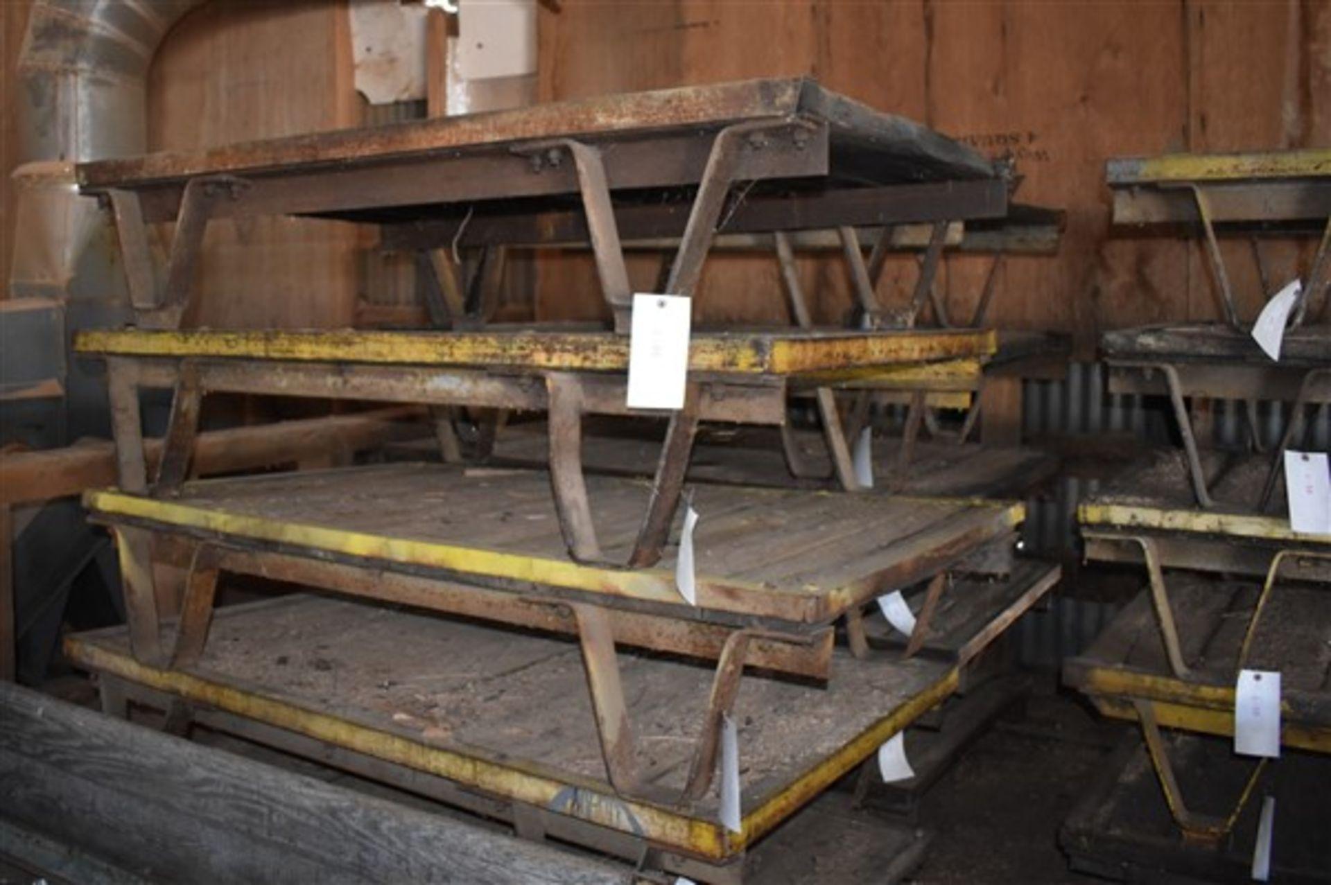 Lot 48 - Heavy Duty Material Pallet