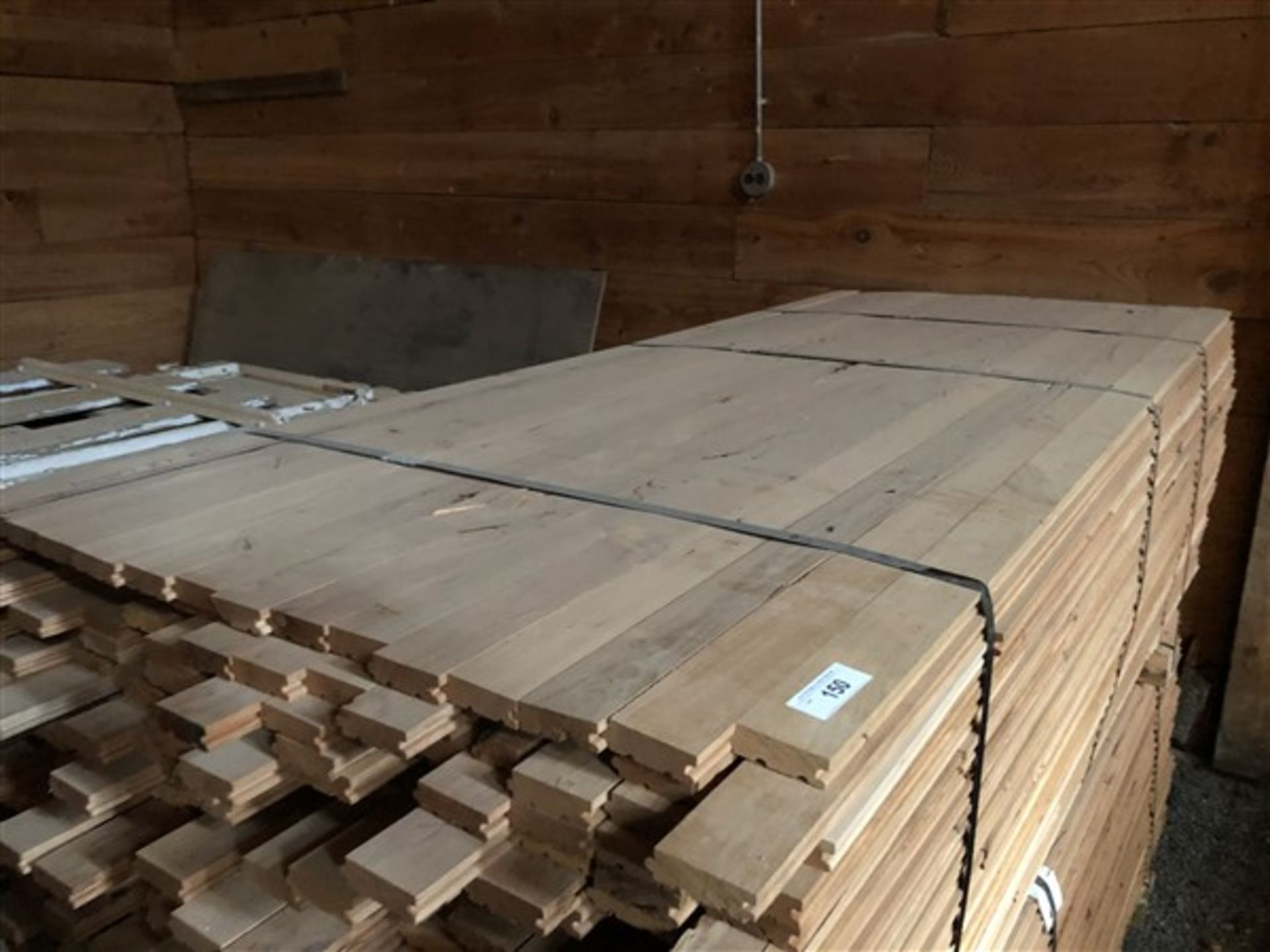 """Lot 150 - Cherry 2 1/4"""" Unfinished Flooring"""