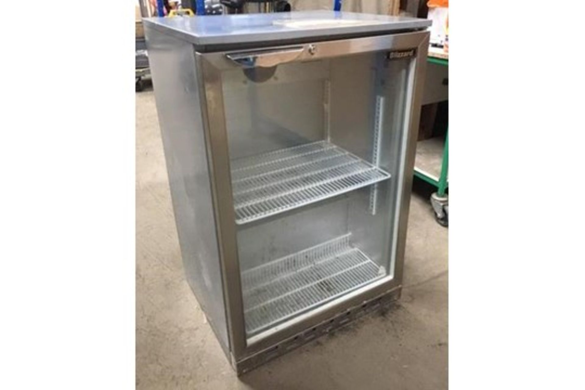 Lot 12 - Blizzard BZ-BAR2SS Under-Counter Refrigerator