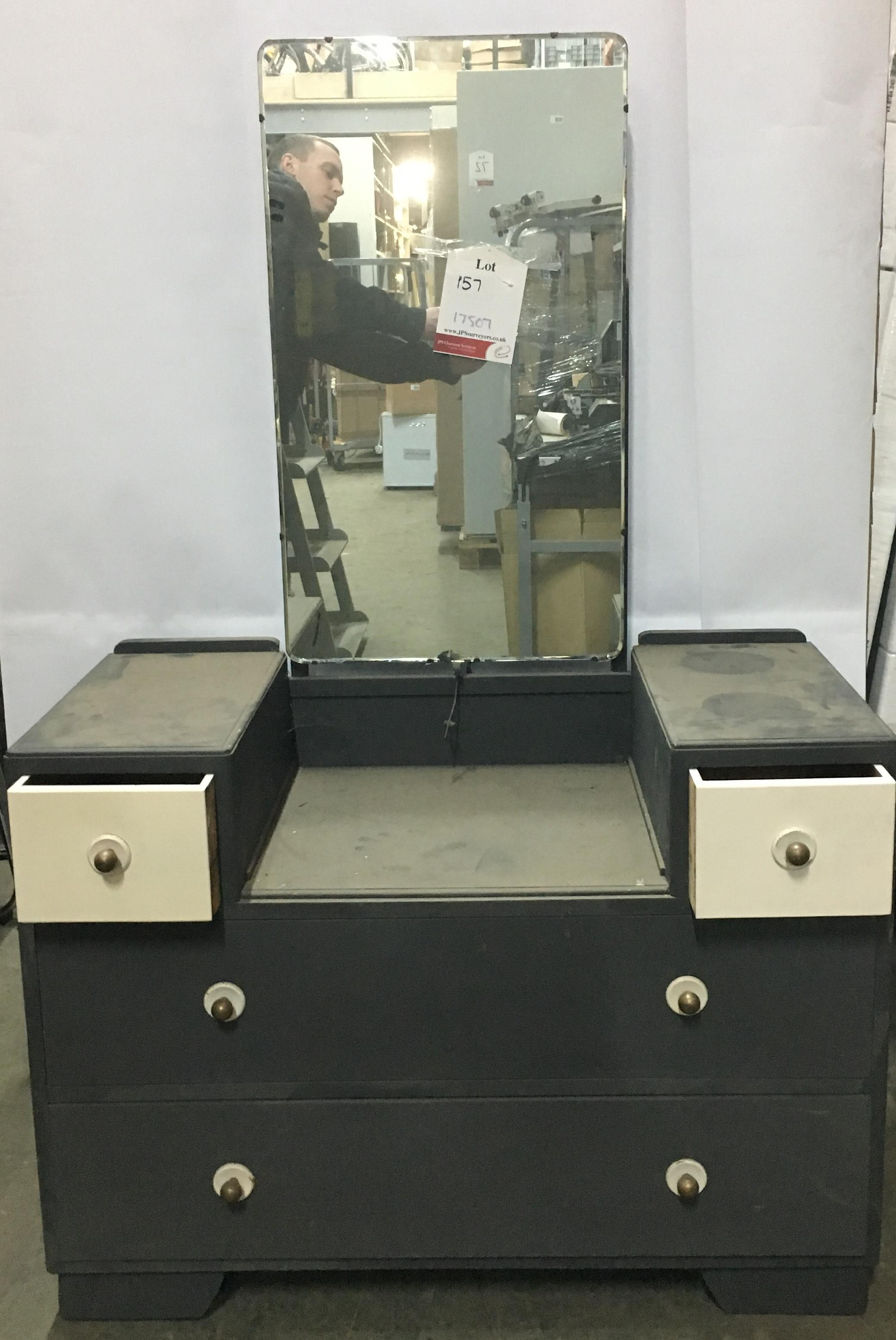 Lot 18 - Dressing Table with Mirror