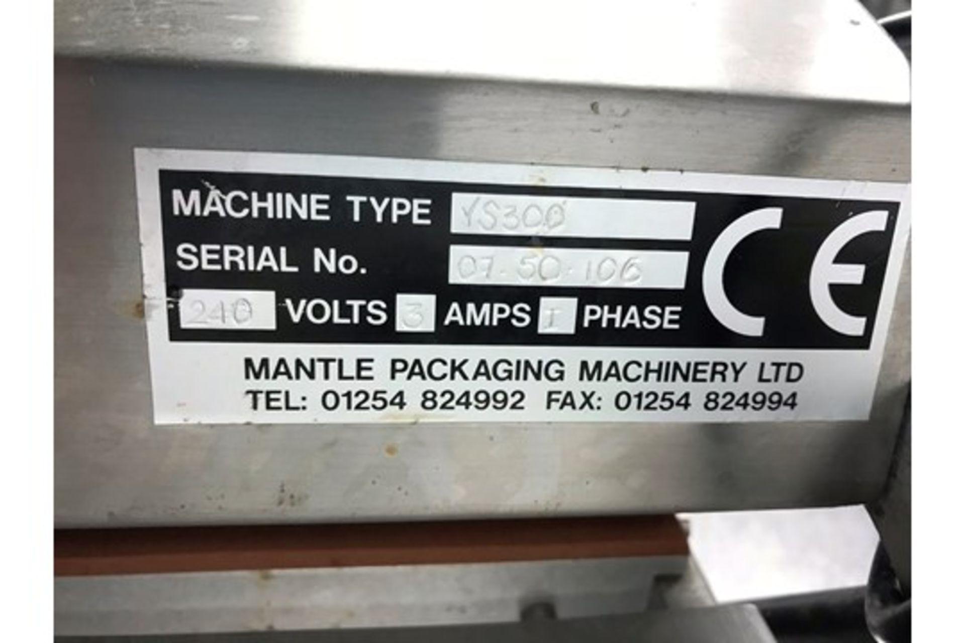 Lot 6 - Mantle Packaging VS300 Tray Lidding Machine w/ Various Die Plates