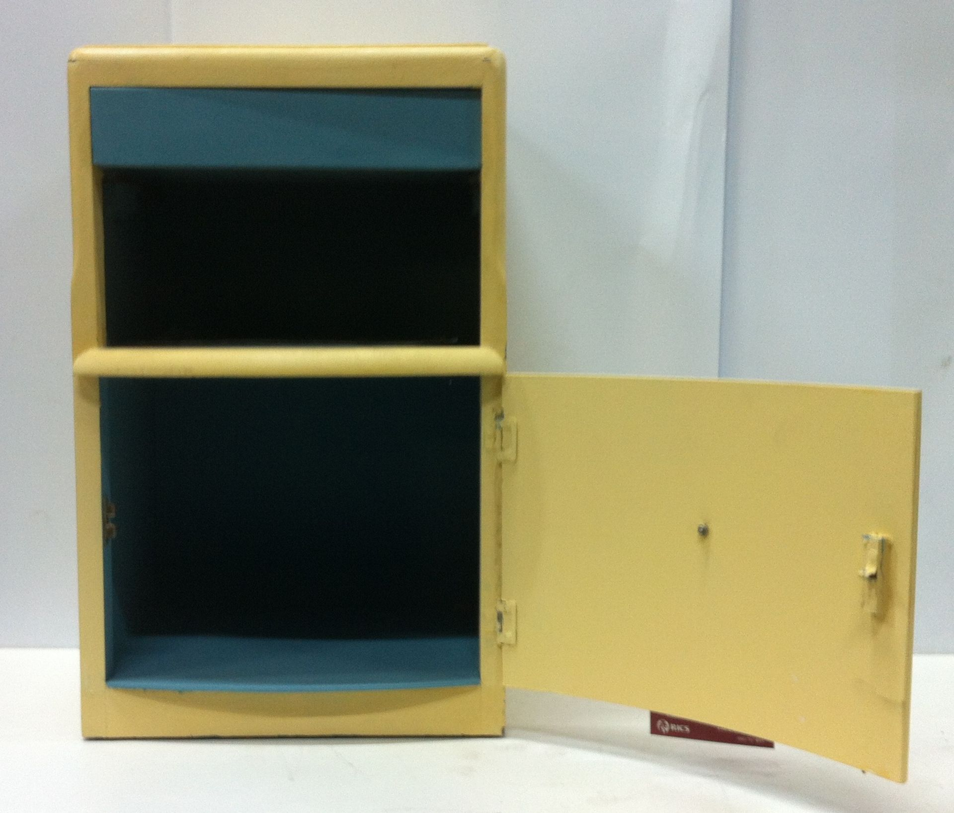 Lot 19 - Bedside Table/Small Storage Cupboard