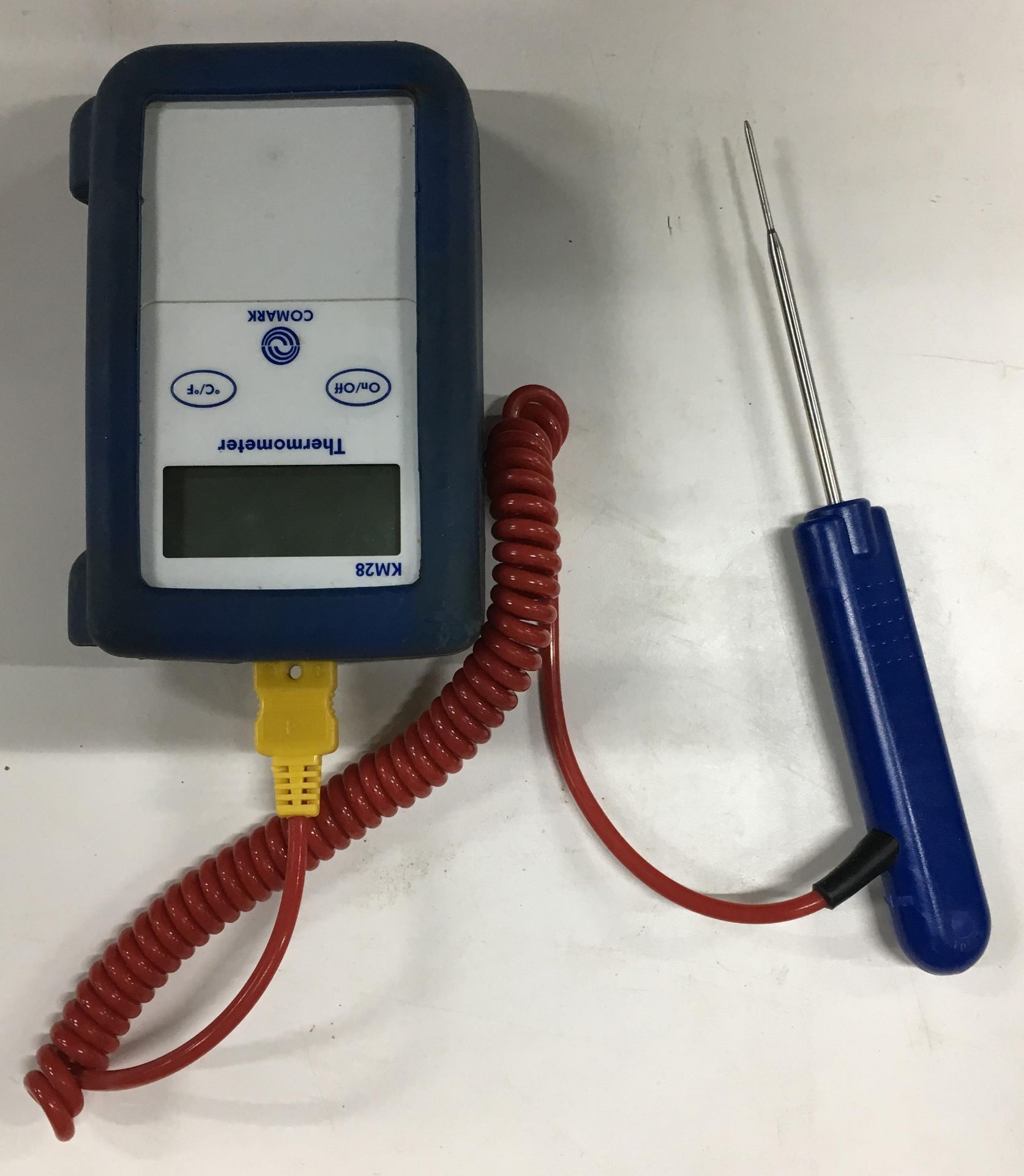 Lot 16 - Comark KM28 Thermometer